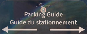parking guide in Winnipeg, Manitoba where we host our sites